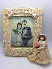 Boyds Bears Wedding Bride Dollstone Picture Frame Forever Tiffany #27550