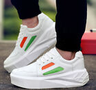 Mens Casual Muffins Skateboard Lace Up Platform Sports Sneakers Shoes Comfy
