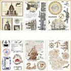 Vintage Transparent Silicone Clear Stamp Cling Diary Scrapbooking DIY Craft