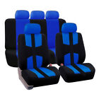9pcs Universal Car Suv Van Seat Covers Frontrear Headrests Full Surround Cover