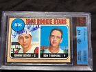 1968 topps Johnny bench rookie ** AUTO