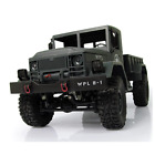 1/16 2.4G RC  4WD Military Truck Rock Crawler Off Road With Light RTR Army