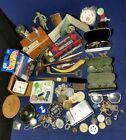 Junk Drawer Lot Vintage to Now 4 Pounds Collectibles Trinkets Stuff 9C