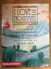 I Love the Mountains Song Archambault Teacher Home School Oversized Book Signed