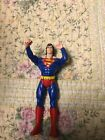 VINTAGE 1995 SUPERMAN 5 ACTION FIGURE w ARMS UP FLYING ACTION flight
