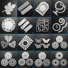 Round Frames Cutting Dies Stencil DIY Scrapbooking Album Paper Card Embossing