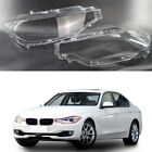 Headlight Headlamp Lens Cover RightLeft For 2012 2015 BMW F30 F31 F35 3 series