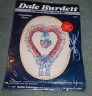 New Vintage 1987 Dale Burdett Country Cross Stitch Kit Friendship Dove Heart