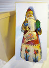 Jim Shore Heartwood Creek Santa Birdhouse Chrismas Figurine 2002 in Box Medium