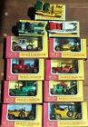 RARE MATCHBOX LESNEY MODELS OF YESTERYEAR MODELS 11 PIECE LOT VERY NICE