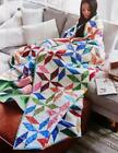 SPINNERS Quilt Pattern Piecing Assorted Batiks from Magazine