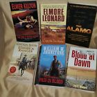 Western Paperbacks Lot of 6 Kelton + 5 Outstanding Authors LIKE NEW CONDITION