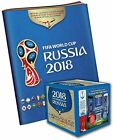2018 Panini Russia World Cup Soccer Sticker Bundle with 50 Pack Box