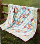RISING STAR Quilt Pattern Piecing Assorted Prints  Batiks from Magazine