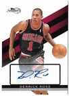 DERRICK ROSE 09 TOPPS SIGNATURE EDITION RC AUTO AUTOGRAPH ROOKIE CARD #37 649!
