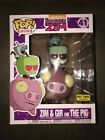 Funko POP Rides Invader Zim And Gir On The Pig Hot Topic Exclusive Nickelodeon