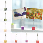 Colorful Cheap Wedding Party Decor Message Clip Photo Holder Message Folder