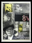 8 1 2  EIGHT AND A HALF  CineMasterpieces MOVIE POSTER FEDERICO FELLINI 1963