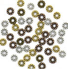 6mm Daisy Flower Spacers Metal Gold Tibetan Silver Spacer Beads Jewelry Making