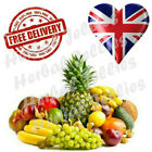 Herbal Male Enhancement Oral Jellies - 7 Mix Fruit Sachets - Solid As Rock - UK