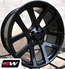 20 x9 inch Wheels for Chrysler 300 Gloss Black Rims Dodge Viper Style 5x115 +20