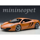 AUTOart 76006 MCLAREN MP4 12C 1 18 DIECAST MODEL CAR ORANGE