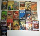 Sci Fi Lovers, Lot of 19 Vintage Sci Fi Classics 1970s-Present Paperback BooksS2