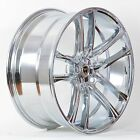 4 GWG Wheels 18 inch Chrome ZERO Rims fits 5X1143 ET40 MITSUBISHI ECLIPSE GT