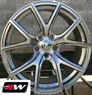 20 inch RW Wheels for Jeep Grand Cherokee Trackhawk SRT Hyper Silver 20x10 Rims