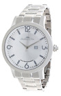Lindberg & Sons - LSSM201B - wrist watch for men - white dial - stainless