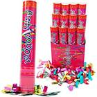 Party Popper Twist to Shoot Air Compressed Shooter Blaster Confetti 12