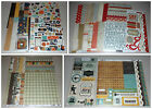 Boy Themed Scrapbook Kit Lot Echo Park Cosmo Cricket  Simple Stories 40+