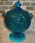 Button Covered Candy Dish Compote