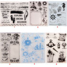 Sea Sail Transparent Silicone Clear Stamps DIY Scrapbook Embossing Paper Card