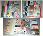 Scrapbook Kit Lot My Minds Eye Shimelle with Thickers Pebbles + Prima
