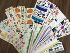 Mrs Grossmans Vintage Stickers 1990s Lot Of 35 Sheets RARE