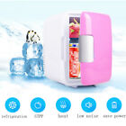 12V 4L Portable Mini Fridge Thermoelectric Cooler/Warmer Car Travel Ice Box Pink