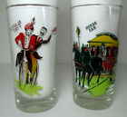 2 Anchor Hocking Gay Nineties Tumblers 5 1/2
