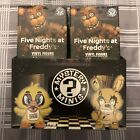 Sealed Case Lot Of 12 Five Nights at Freddy's Funko Mystery Minis Blind NEW FNAF