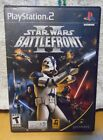 STAR WARS BATTLEFRONT II (PLAY STATION PS2) WITH CASE