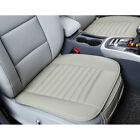 Seat Cover Universal Car Suv Breathable Front Cushion Pu Leatherbamboo Charcoal