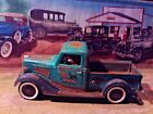 118 Scale DiecastCustom Weathered  Rusted Green 1936 Ford Pickup Truck