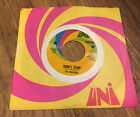 THE WASTERS DONT STOP ACCEPT MY LOVE UNI PROMO 45 RECORD 55148