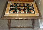 Crafts Era California Taylor Tile Table (as-is) DALLAS PICK-UP