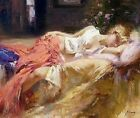 "Pino ""Daydream""embell Sensuous Lady Day Dream HS/# Giclee Canvas Pcoa ed. 95"