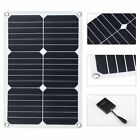 18W Solar Battery Charger Panel Portable For Cars Motorcycles Vehicles Durable