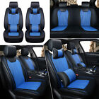 Us Universal 5 Seats Car Suv 3d Seat Cover Luxury Frontrear Cushions Wpillows