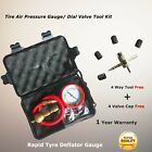 4WD Rapid Tyre Deflator 4x4 Deflators Tire Air Pressure Gauge Valve Tool Kit