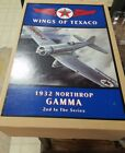 ERTL B223 1932 NORTHRUP GAMMA WINGS OF TEXACO DIE CAST AIRPLANE COIN BANK