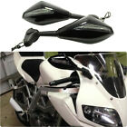 LED Turn Signals Motorcycle Side Mirrors For Suzuki Sports SV1000S SV650 Custom